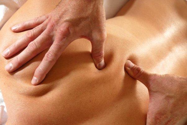 Акупрессурный по точкам массаж